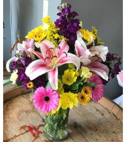 Lovely and bright bouquet