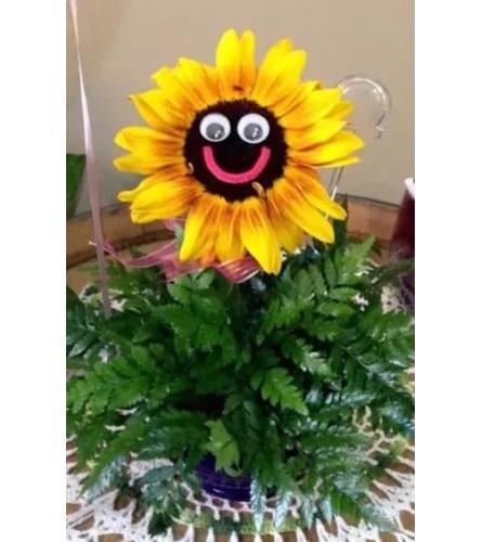 Smile little sunflower