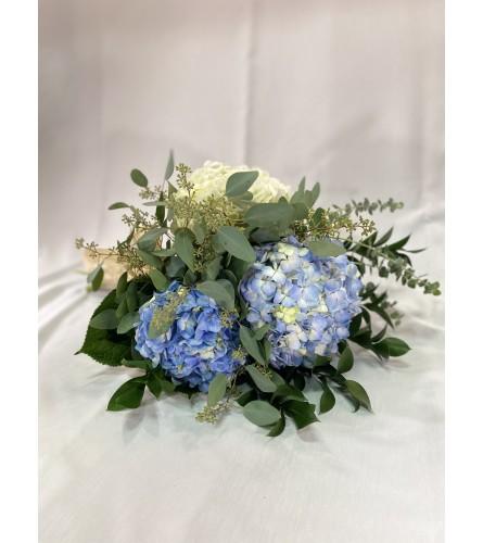 Hydrangea Heaven Hand-tied Bouquet