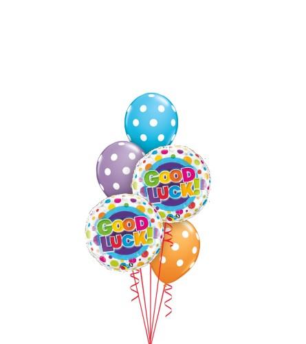 Good Luck Classic Balloon Bouquet