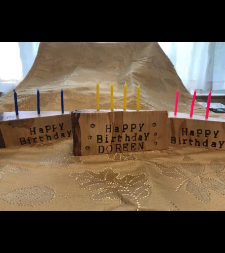 Custom Birthday Cake Keepsake