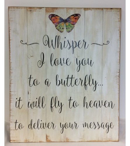 Butterfly Wall Art **PICK UP ONLY**