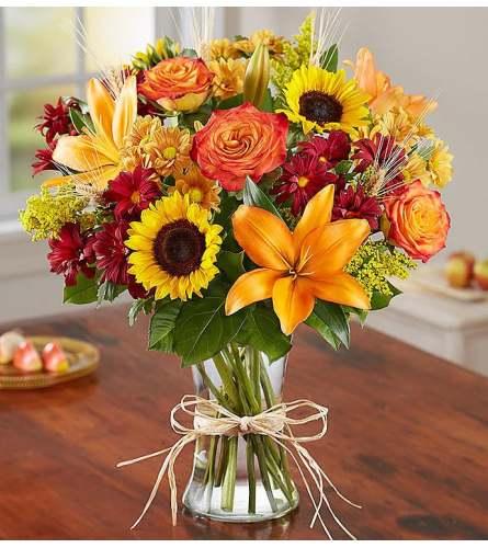 Fields Of Europe Vase Bouquet