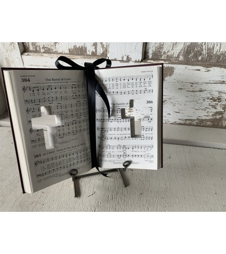 Cross Cut-Out Book