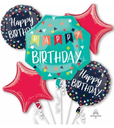 Reason to Celebrate Super Fun Foil Balloon Bouquet
