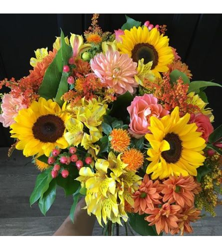 Fall Mixed Bouquet Yellow