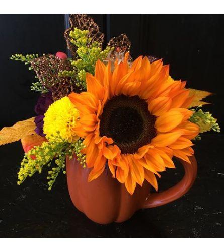 Designers Choice Fall Pumpkin mug