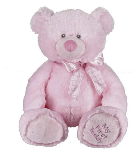 My First Teddy- Blue / Pink