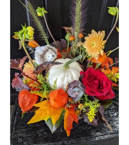 Designer Autumn Harvest Basket