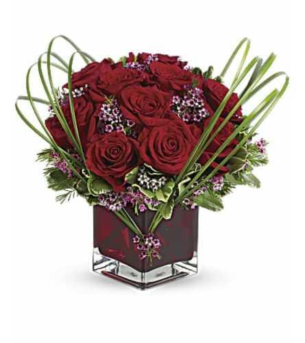 Romantic Heart Cube