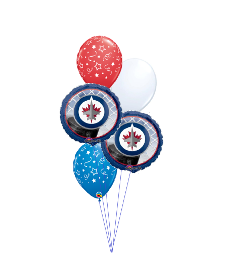 Jets Classic Balloon Bouquet