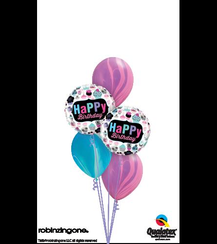 SuperAgate Birthday Cupcakes