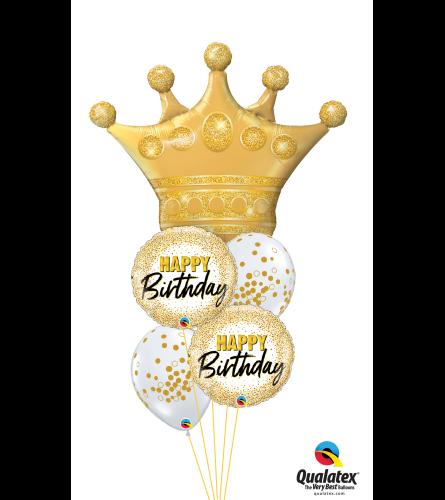 Queen of Birthdays Cheerful Balloon Bouquet