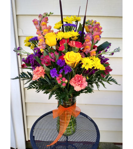 Vibrant Fall Blooms