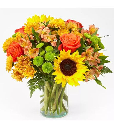 The Autumn Sunflower Bouquet