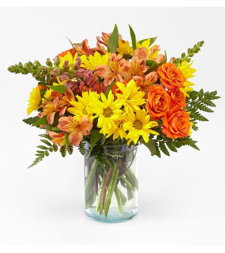 The Fall Amber Bouquet