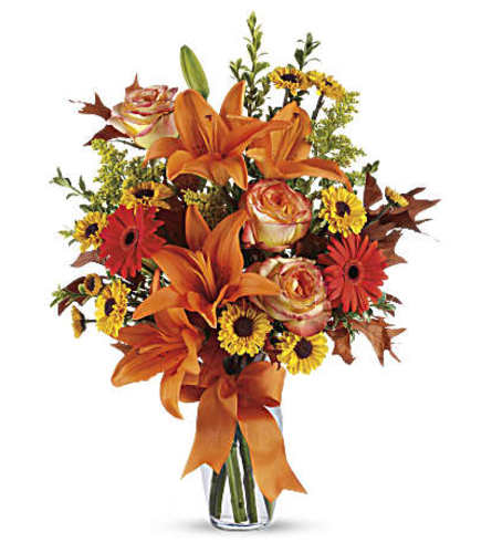 The Burst of Autumn Bouquet