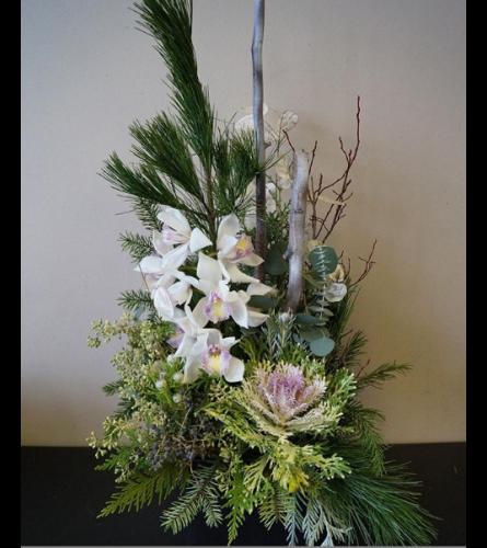 Designer Natural Winter Garden