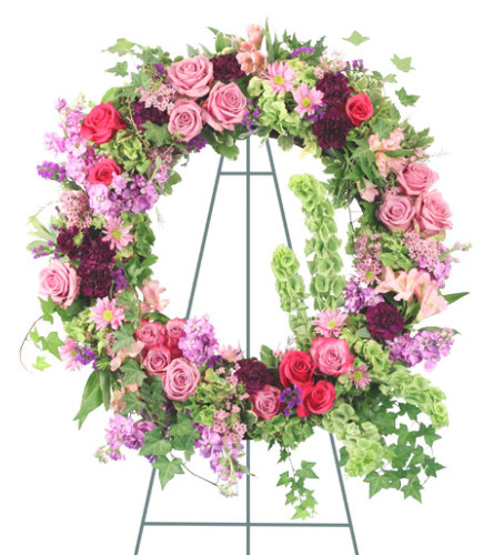 Enchanting Whisper Standing Wreath