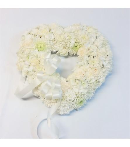 Pure White Heart