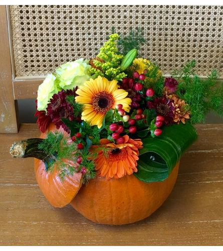 Fall Pumpkin Fun Arrangement