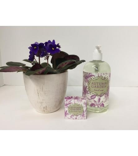 Autumn Garden Hand Soap Gift Set