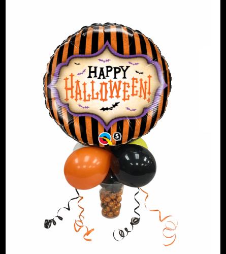 Halloween Stripes Chocolate Pumpkins Candy Cup