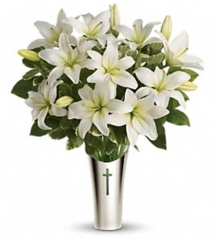 Sacred Cross Bouquet Teleflora