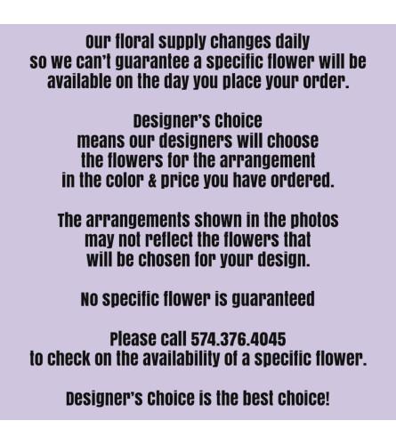 Designer's Best-For Info Only