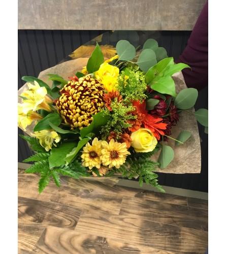 Fall Handtied Bouquet
