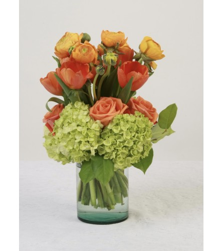 Orange Spice Arrangement