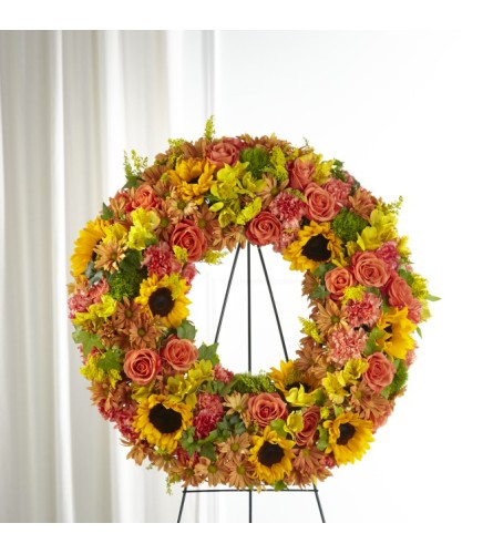 FTD's Autumnal Memories Wreath by TCG