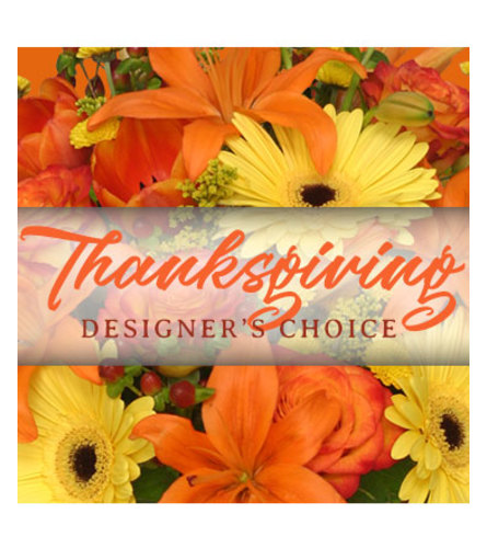 Thanksgiving Handcrafted Designer Choice