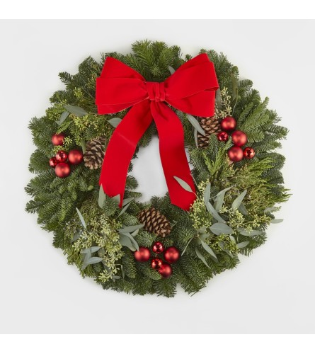 FTD's Make it Merry Wreath by tcg