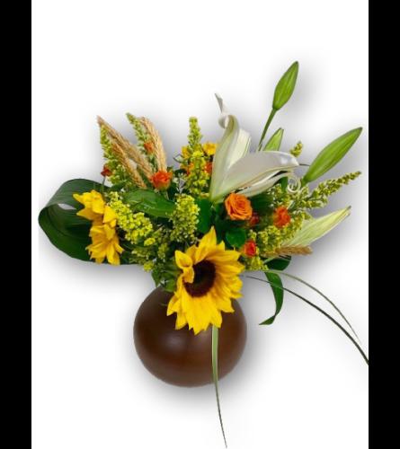 Sunflower Sunshine Arrangement