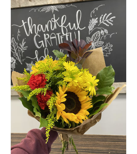 Fall Hand tied bouquet