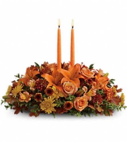 Fall Family Gathering Centerpiece