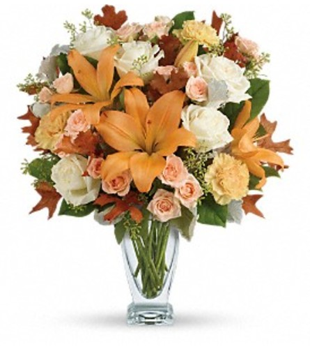 Peachy Seasonal Sophistication Bouquet