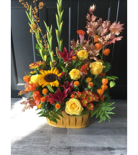 Designers Choice Fall Garden Basket