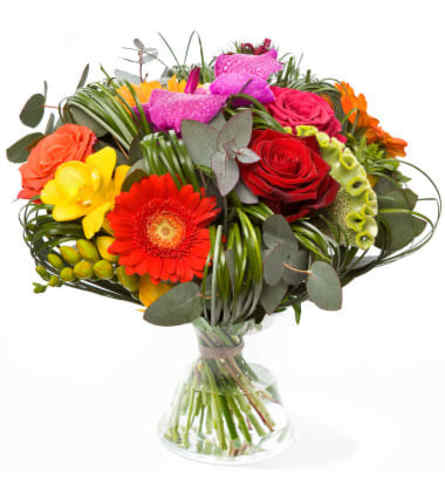 Free Spirit Euro Handtied Bouquet