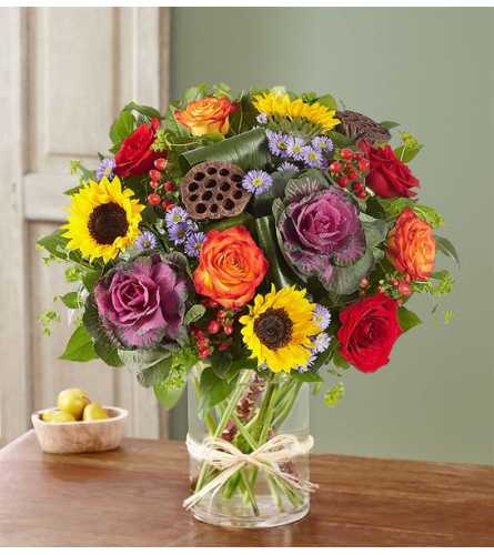 Garden Of Grandeur® for Fall Bouquet