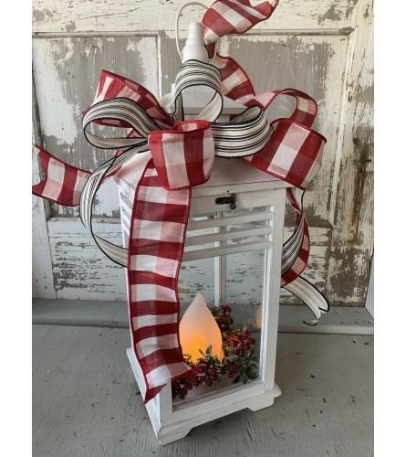 Flame Christmas Lantern