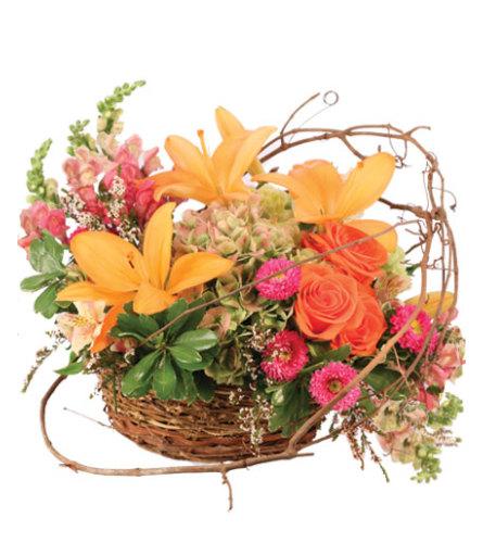 Free Spirit Garden Basket