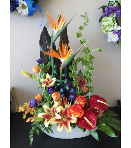Designers Choice Tropical Arrangement