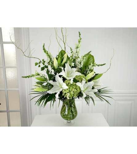 Grand Botanical Vase