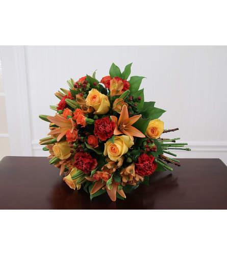 Sunrise Sunset Euro Handtied Bouquet