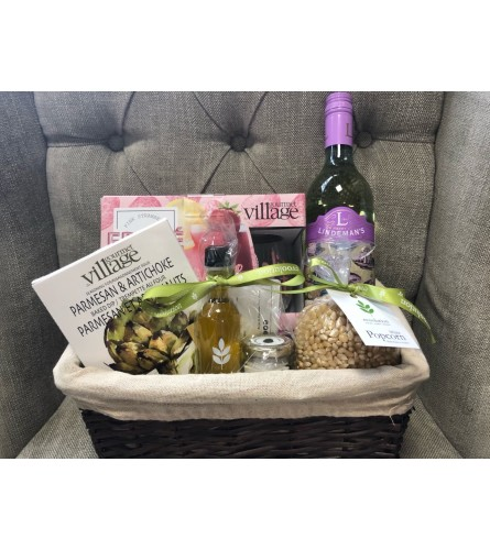 Custom Movie Night Basket