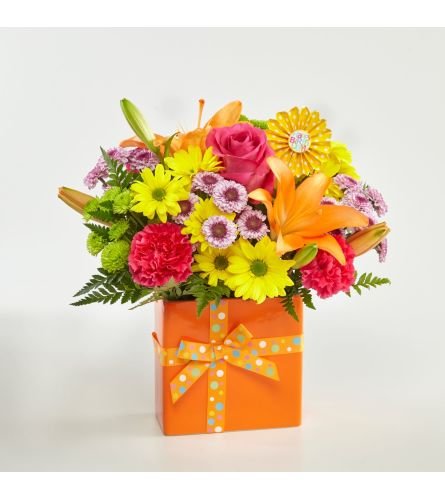 FTD Set to Celebrate Birthday Bouquet FTD