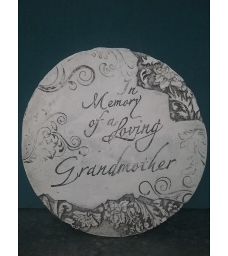 Memory Of A Loving Grandmother Stepping Stone