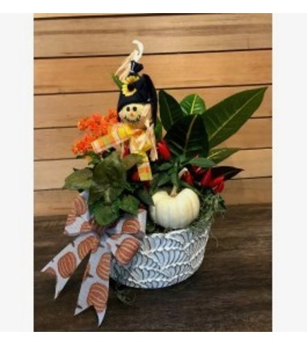 Fall Planter Ceramic Container